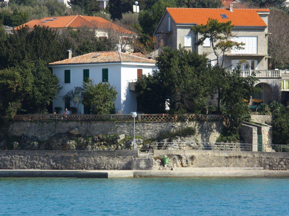 House above the beach