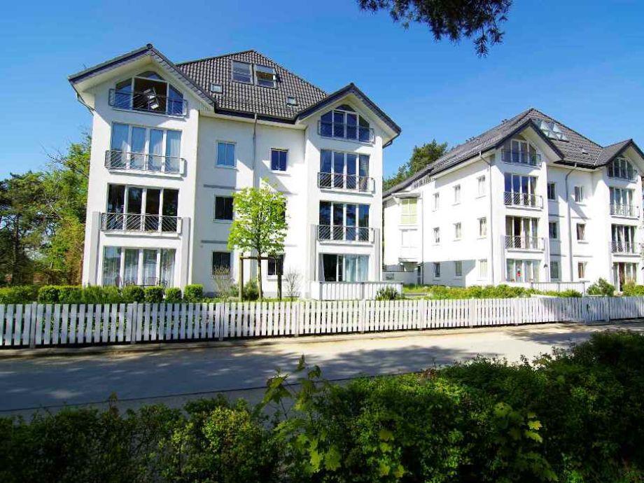 Außenaufnahme Villa Strandperle, Wohnung 16