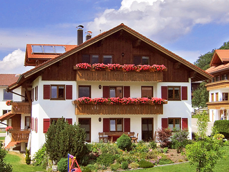Haus Hornblick im Sommer