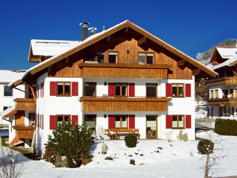 Haus Hornblick im Winter