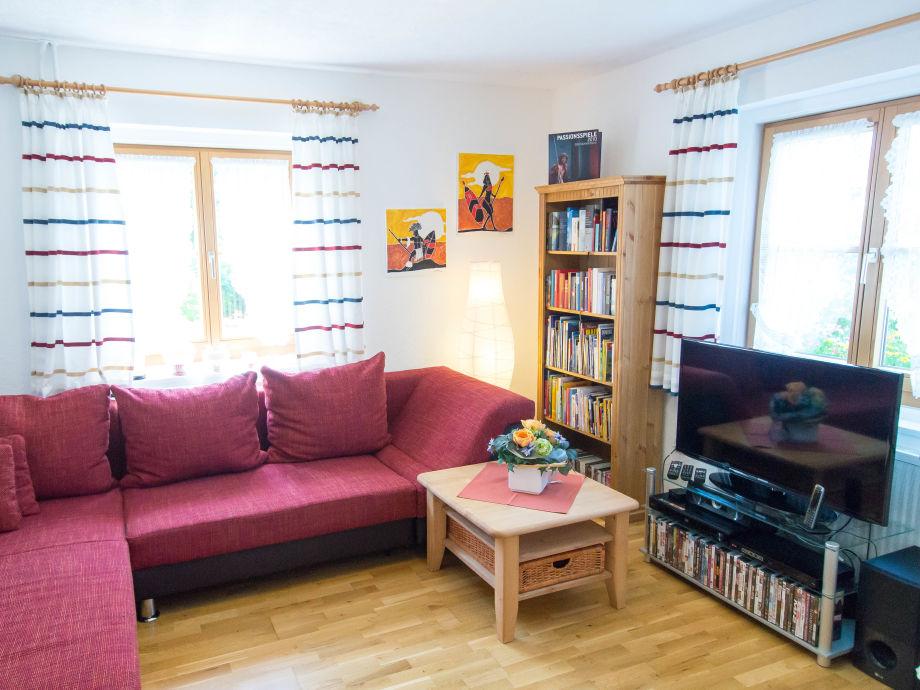 ferienwohnung erdgeschoss im haus fam f hrer f ssen im. Black Bedroom Furniture Sets. Home Design Ideas