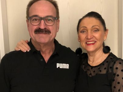 Ihr Gastgeber Edith und Kurt Porten