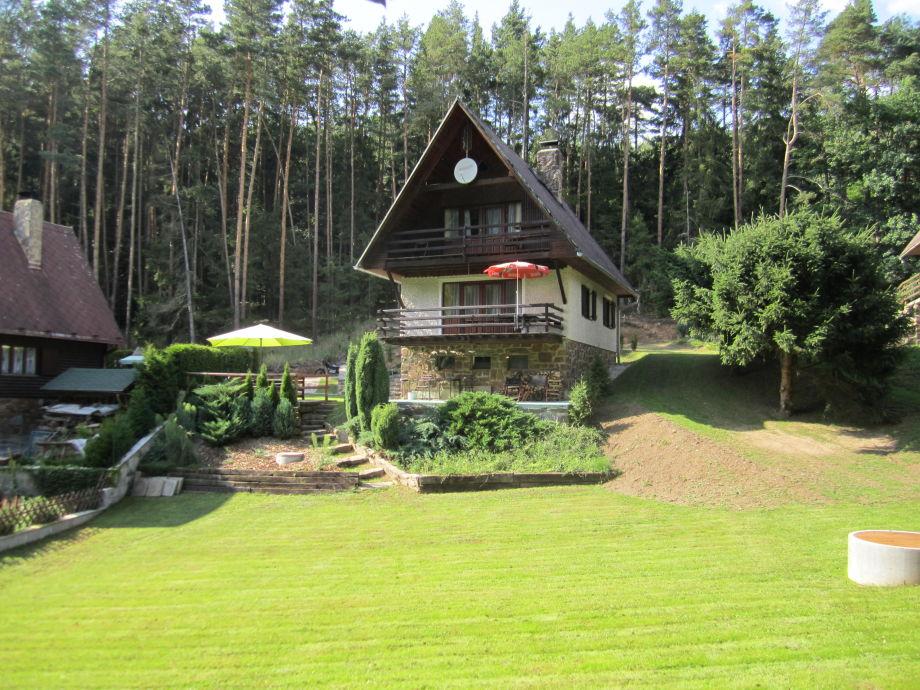 Ferienhaus vom Garten