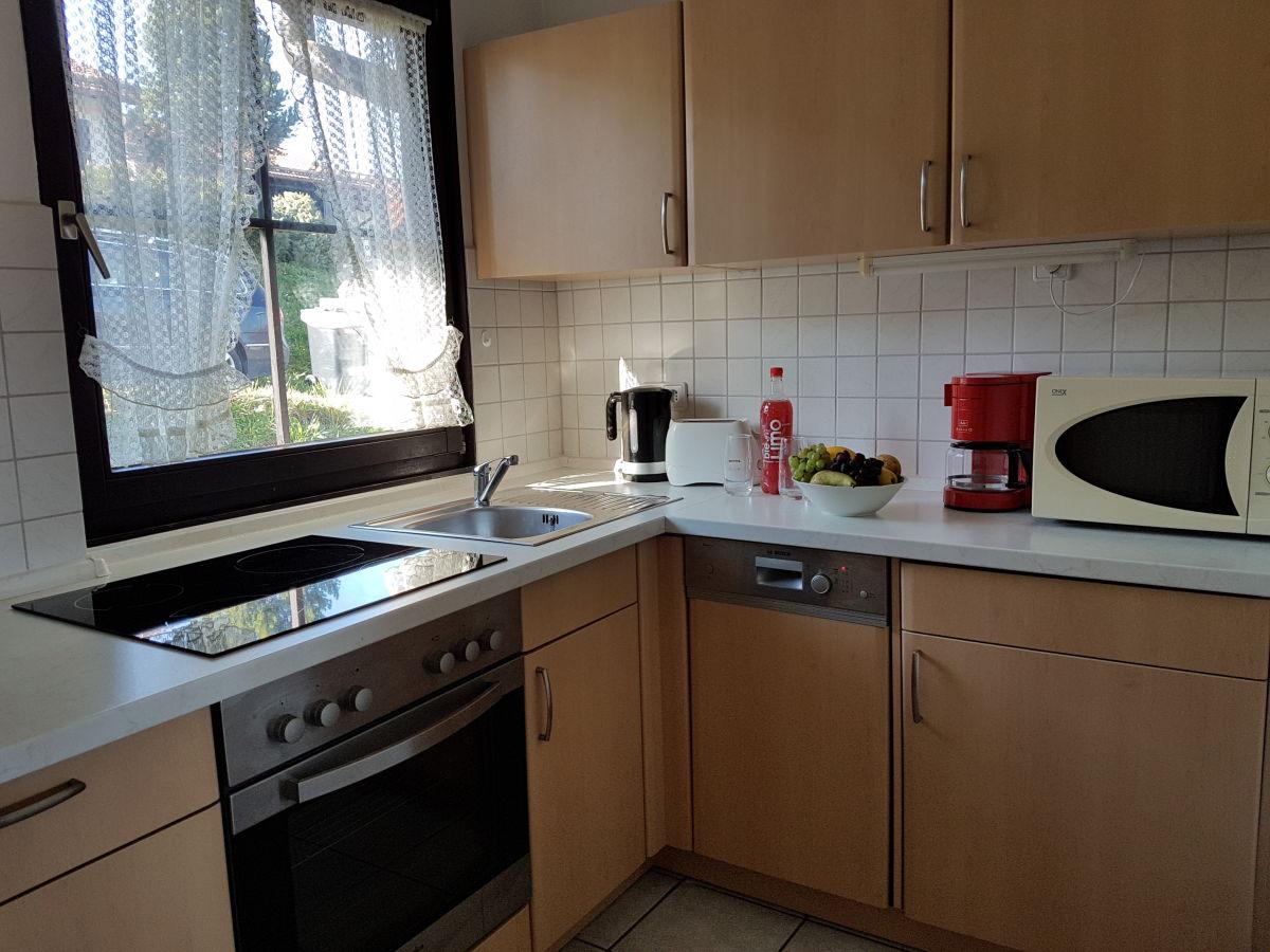 Ferienhaus karin mit kostenloser k nigscard lechbruck am see firma ferienwohnungen g rtner for Cerankochfeld mit backofen