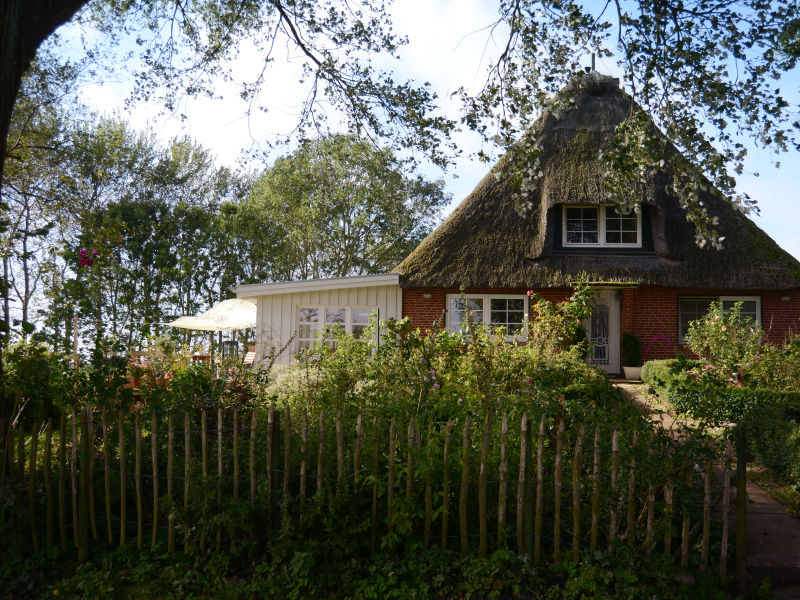 Ferienwohnung Reetdachkate Nordfriesland