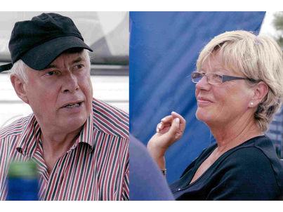Ihr Gastgeber Rolf und Rosemarie Schönberg