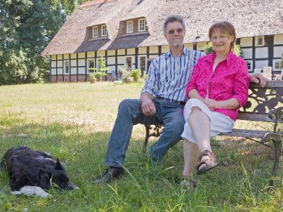 Ihr Gastgeber Anni und Wilhelm Meyer