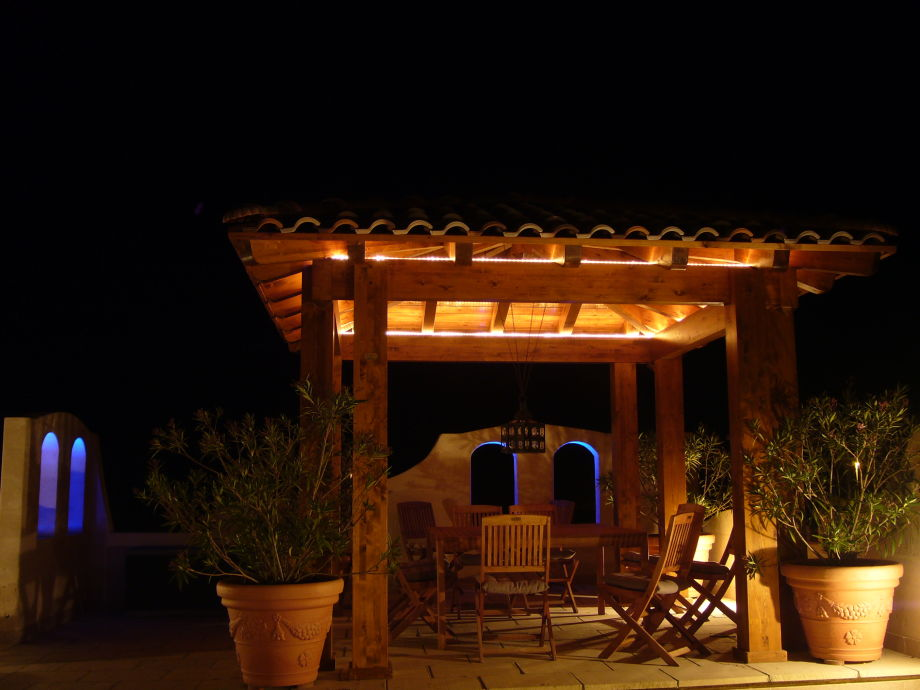 Pavillion auf der Dachterrasse