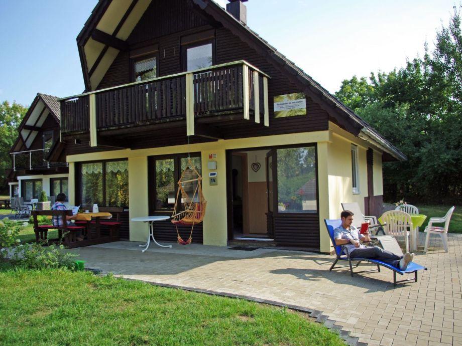 Haus 14 im Sommer