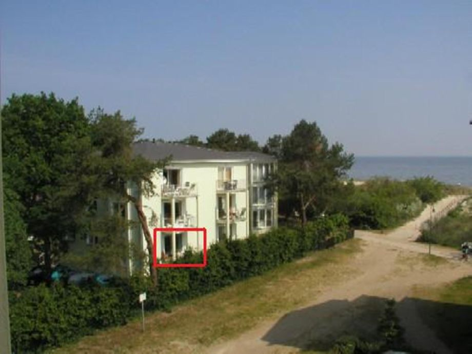 Balkon Wohnung Nr. 5