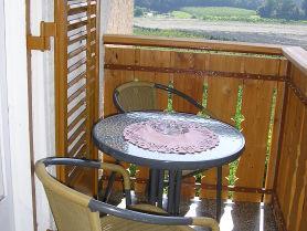 Balkon mit Südblick