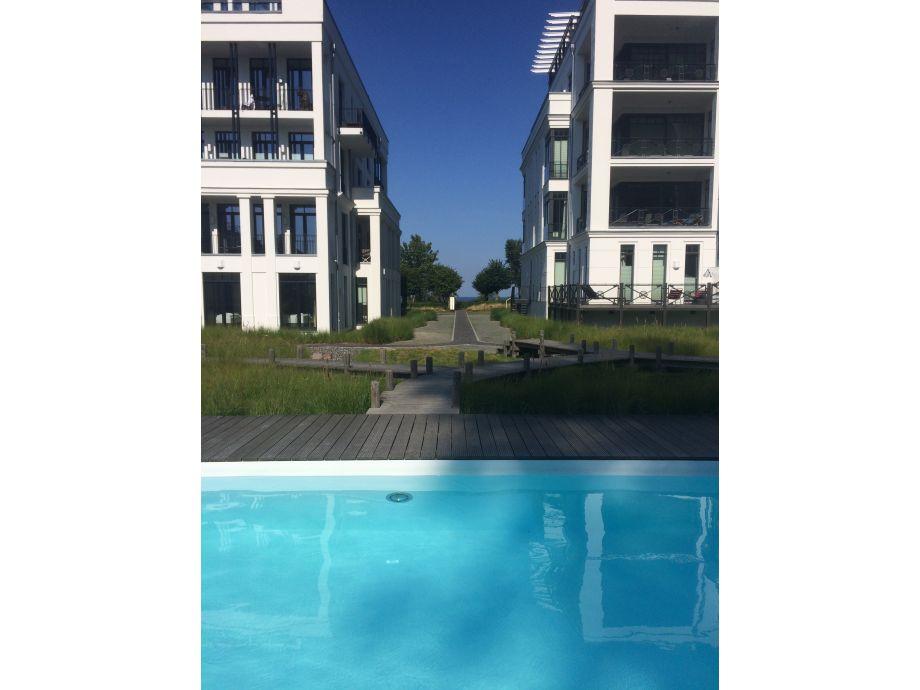 Villa Philine und Claire in 1.Reihe am Meer und am Pool