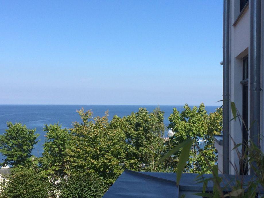 Blick vom 20 qm Balkon