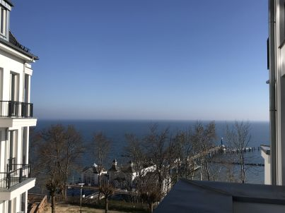 NEU! 5 Sterne Luxusapartment Sellin Am Strand, direkter Meerblick, 115 qm