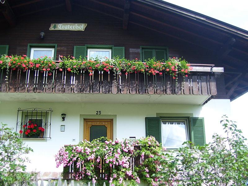 Ferienwohnung Rose am Bauernhof Traterhof