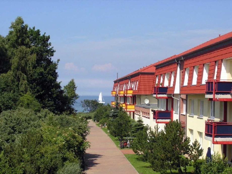 Außenaufnahme Dünengarten Whg. Wa45-40