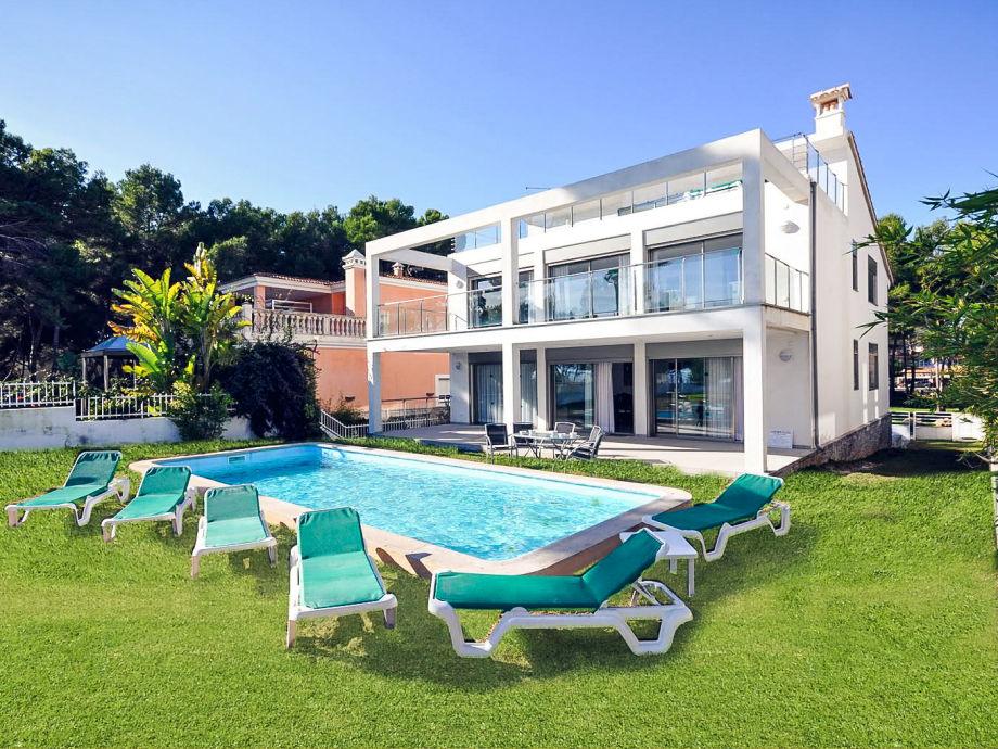 Ferienhaus Marianne mit Pool und Meerblick