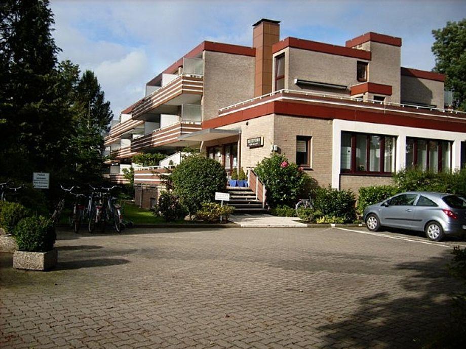Appartementhaus Die Insel mit Rezeption