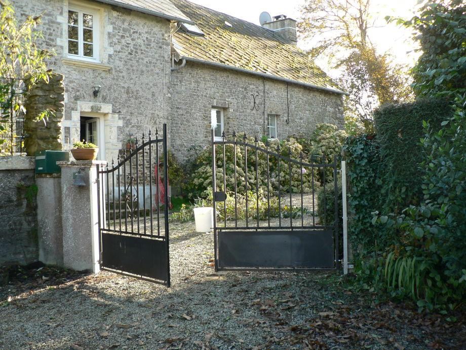 Zugang idyllisches Bauernhaus