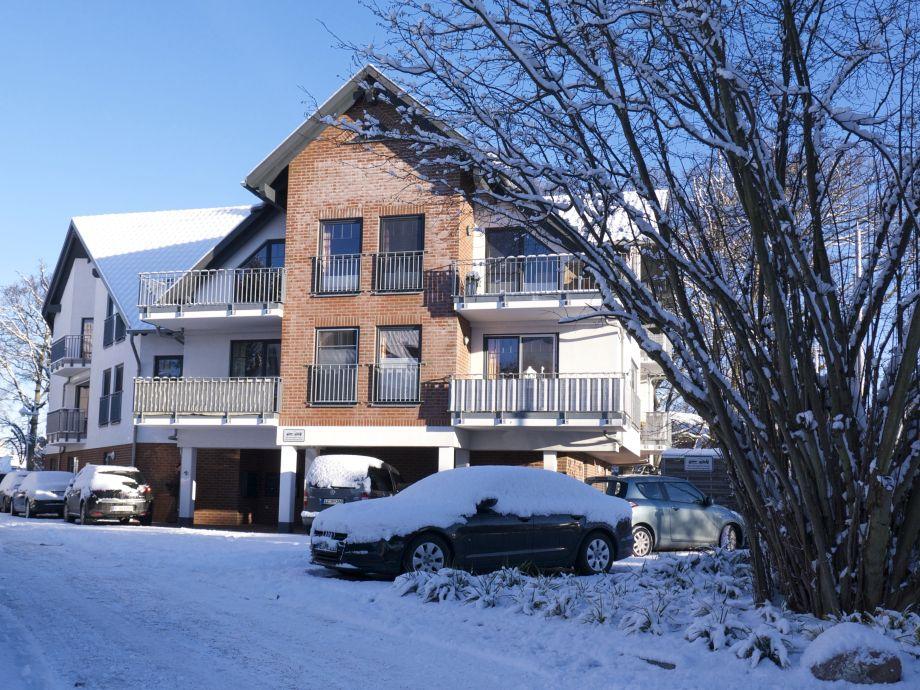 Wohnung Seeluft im Winter