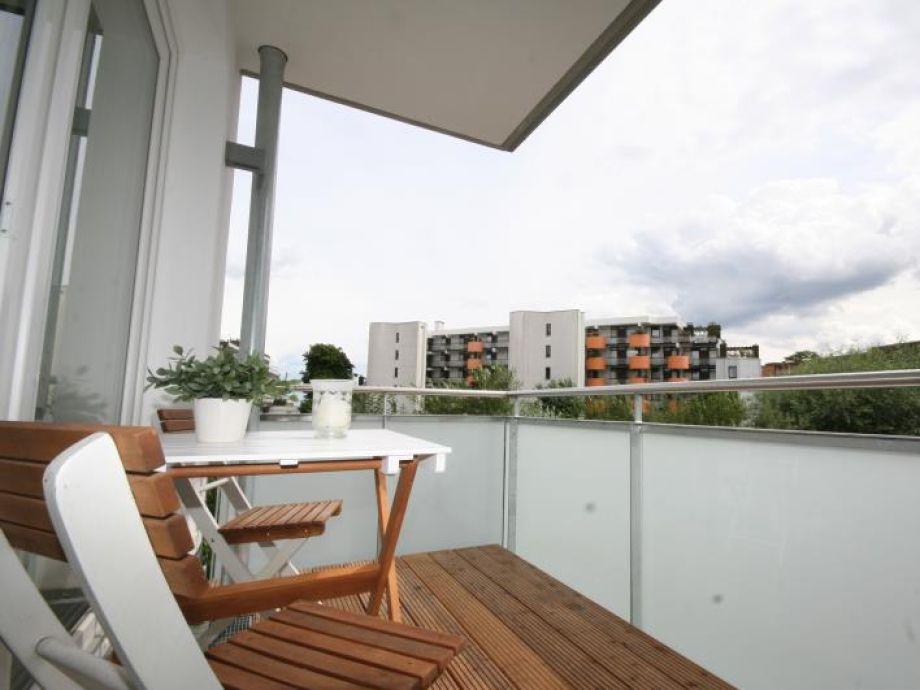 Ferienwohnung Strandgut B 10 Scharbeutz - Balkon