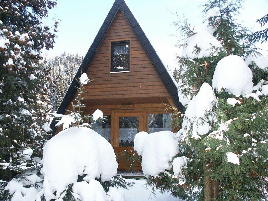 Winterbild Haus Martina