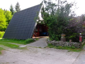 """Nurdachferienhaus / Finnhütte """"Martina"""""""