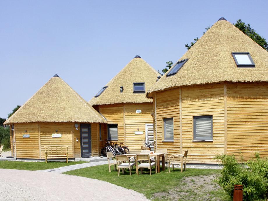Blick auf die Lodges