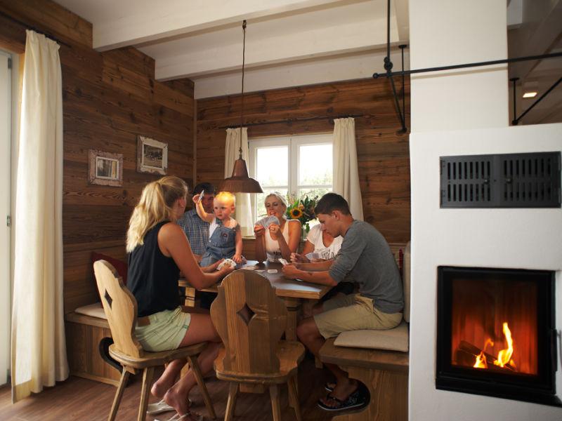 Ferienhaus für 6 Personen mit Sauna & Kamin