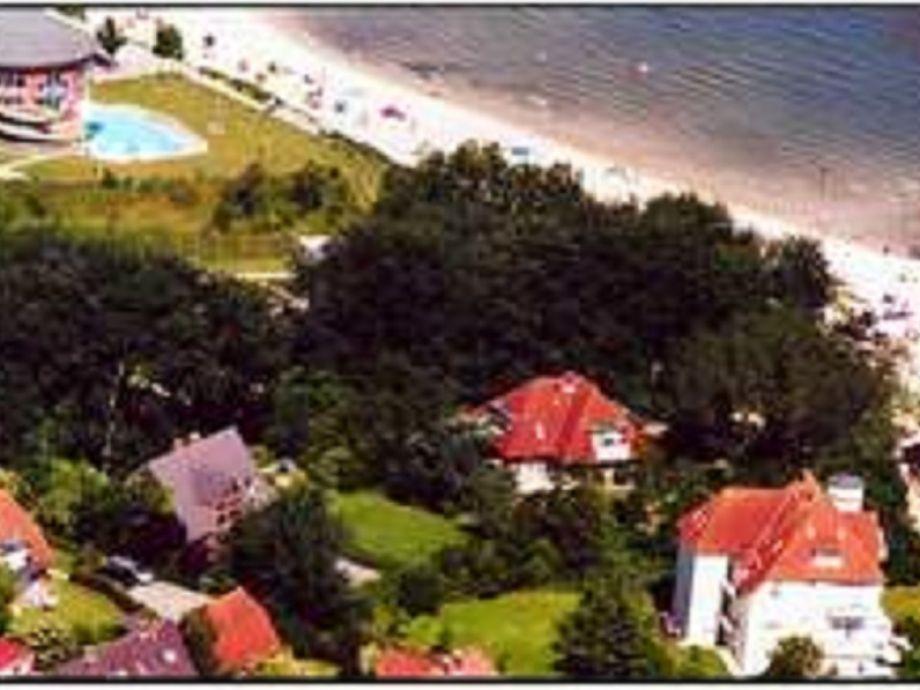 Noch näher zum Strand kann man nicht wohnen.....