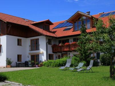 """Schlossblick"" auf dem Biohof Kinker"