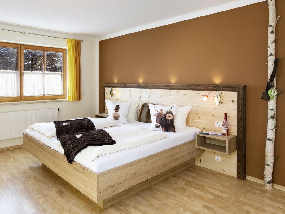 Schlafzimmer Ferienwohnung Schlossblick