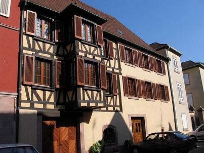 """""""Le Schlossberg"""" im Haus """"Les gîtes du Couvent"""""""