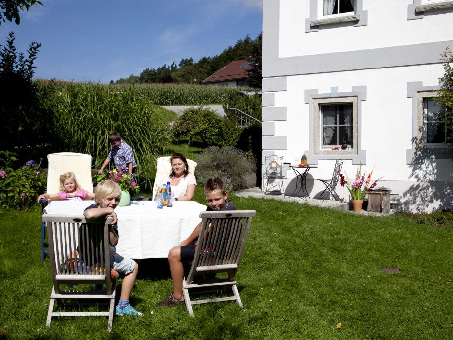 Ferienwohnung toskana auf dem bauernhof rosenberger - Bauernhof garten ...