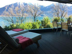 Designer Ferienwohnung Locarno-Minusio mit See- und Bergblick