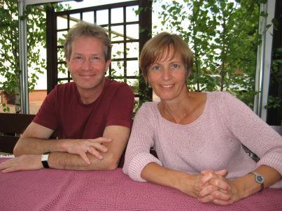 Ihr Gastgeber Klaus und Brigitte Hacker