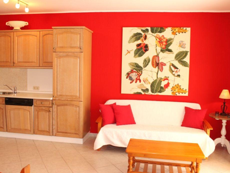 Ausstattung Apartamento Rojo