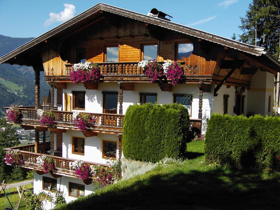 Schwarzenberg house in summer