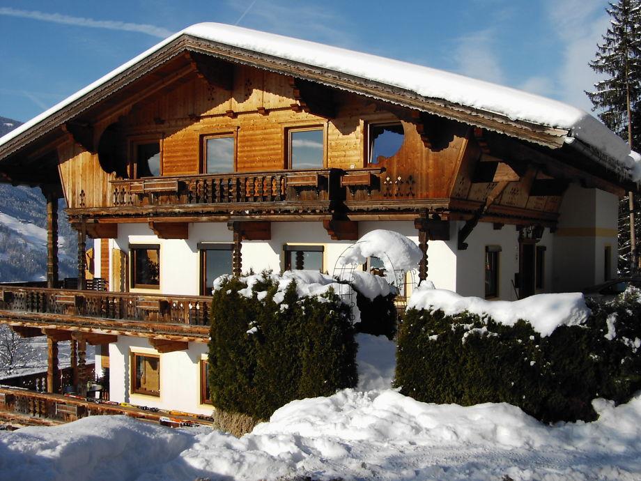 Schwarzenberg house in winter