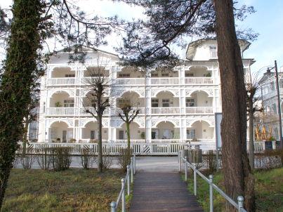 in der Villa Seeadler