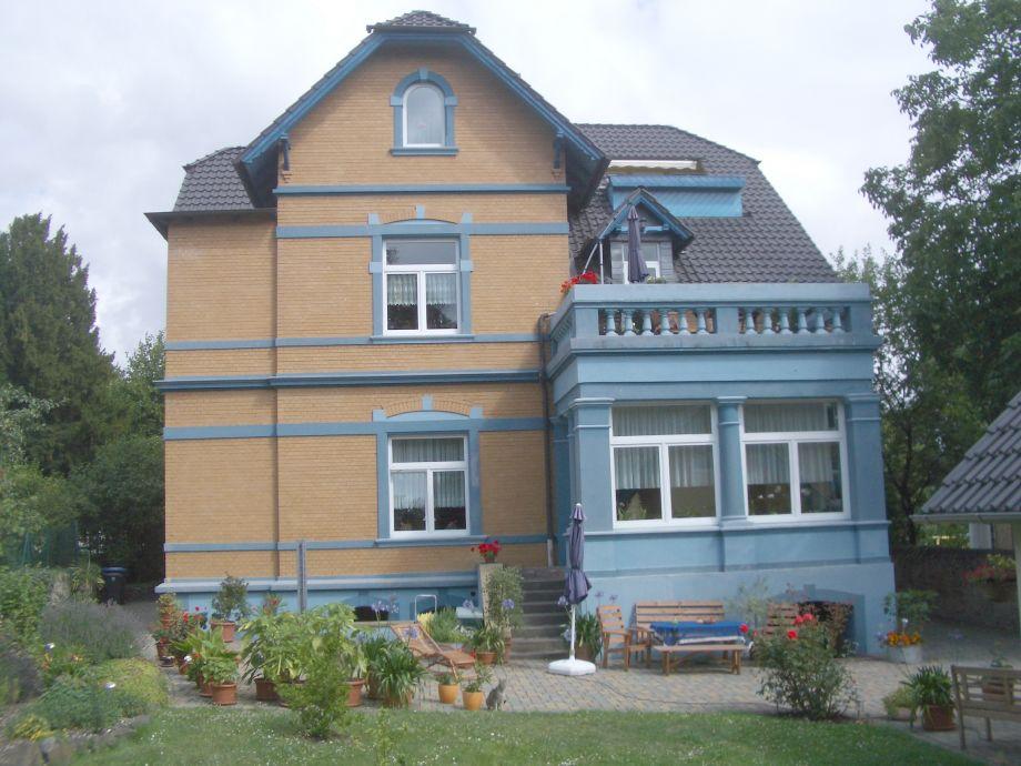 Die Villa in der sich die Fewo befindet