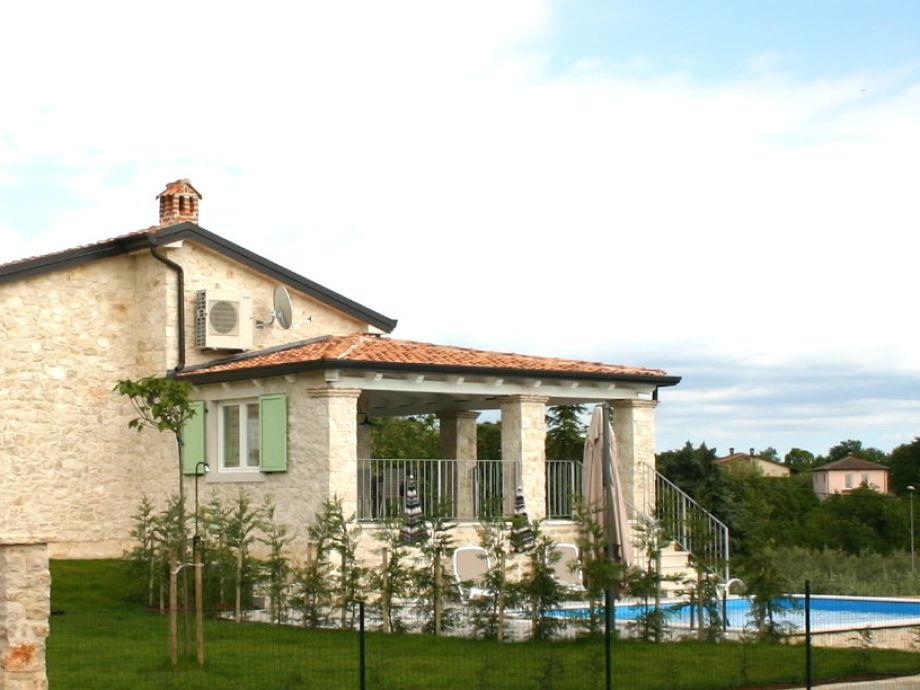Außenaufnahme Villa Luka 1