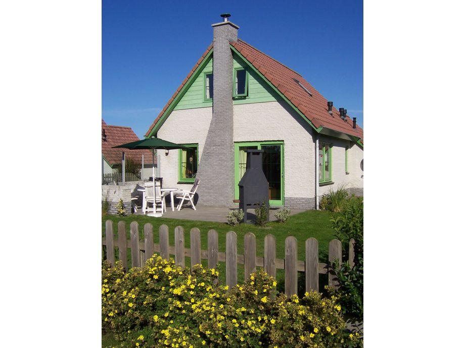 Haus von der Gartenseite fotografiert