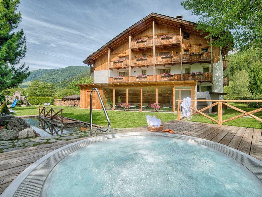 Ferienwohnung in Südtirol mit Sauna