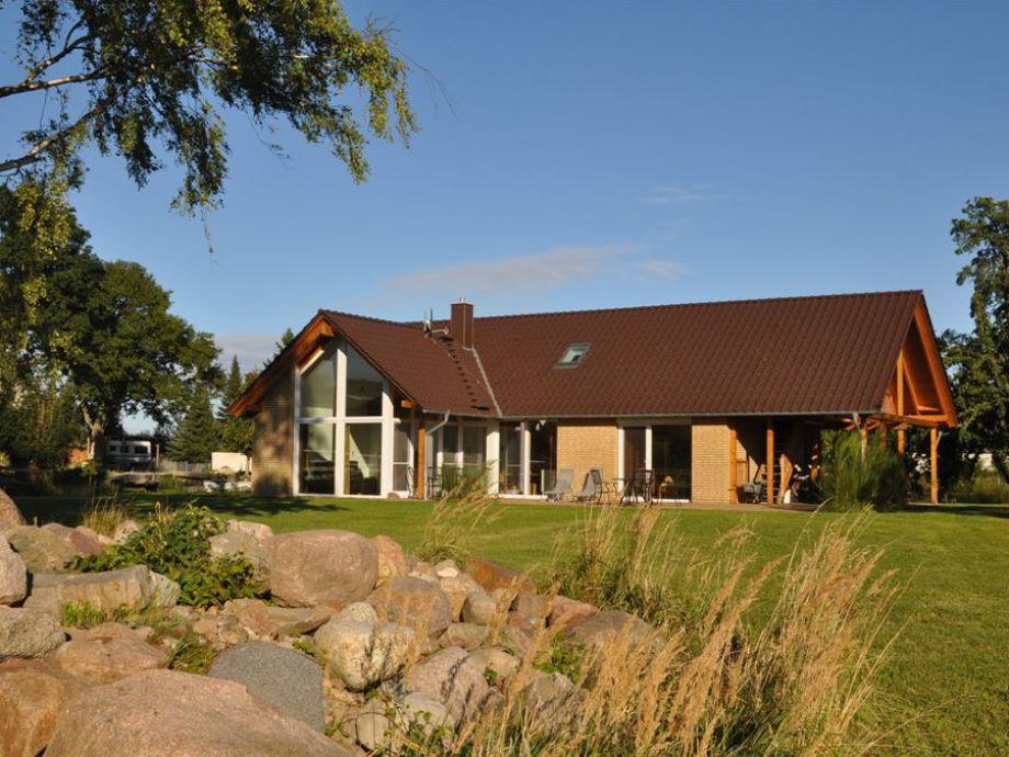 Südwestansicht unseres Landhauses