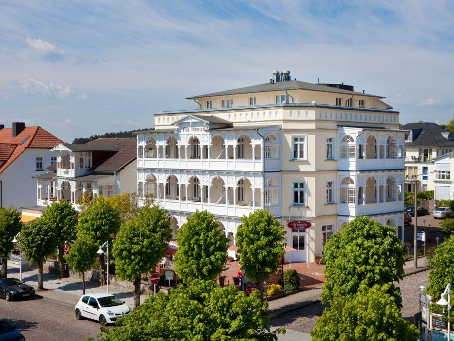 Die imposante Villa erstrahlt in neuem Glanz