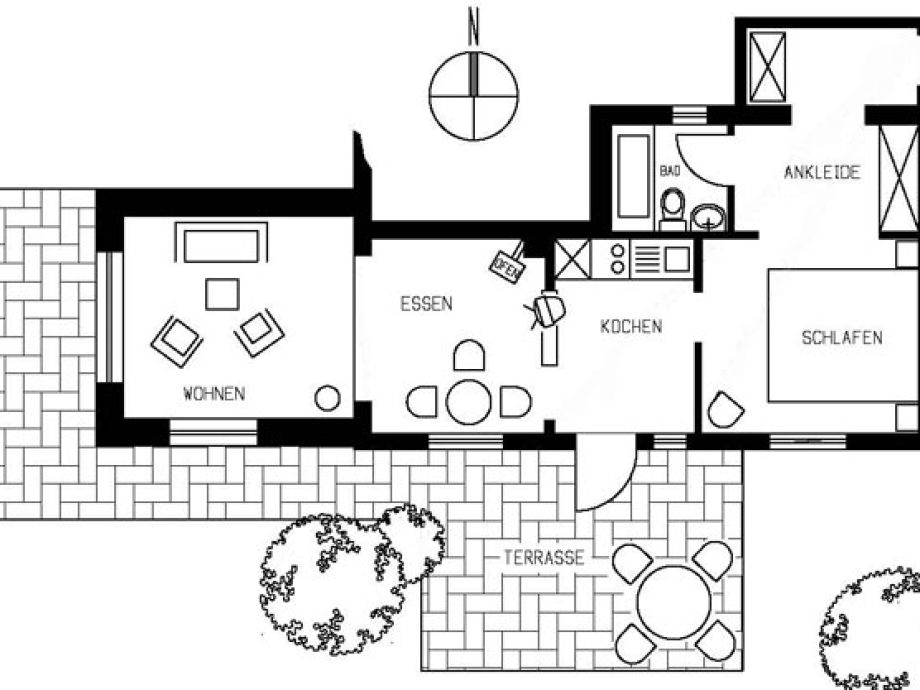 bungalow wei es haus varwig amrum nordfriesland familie gudrun und volker varwig. Black Bedroom Furniture Sets. Home Design Ideas