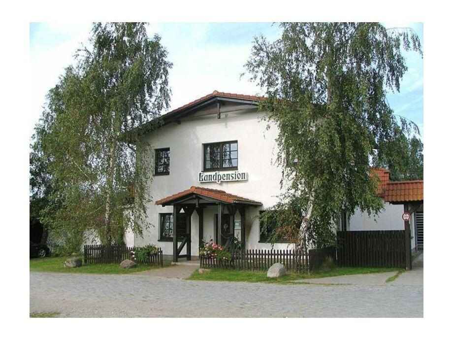 Außenaufnahme Landpension Dubnitz
