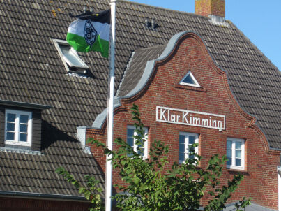 Oberdeck Steuerbord Kapitänshaus Klar Kimming