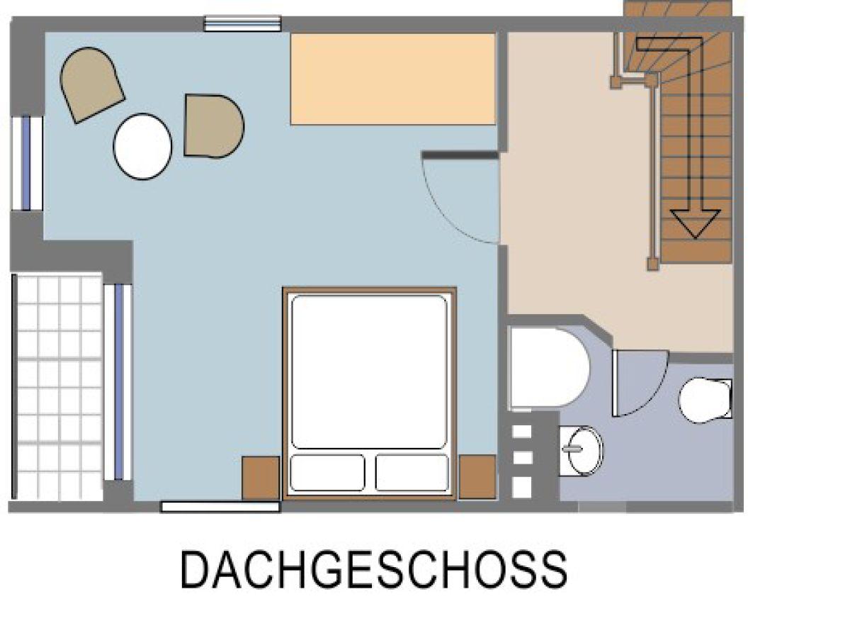 Dusche Dachgeschoss : Ferienwohnung S?dwohnung, Schleswig-Holstein? Ostsee? L?becker